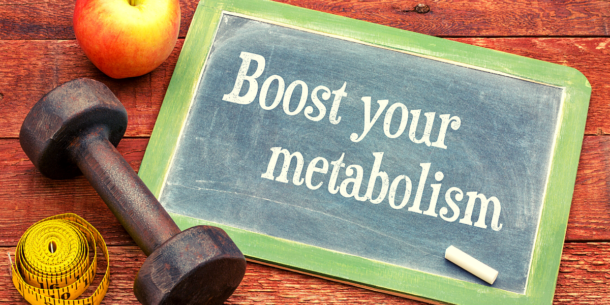 sign for boost your metabolism